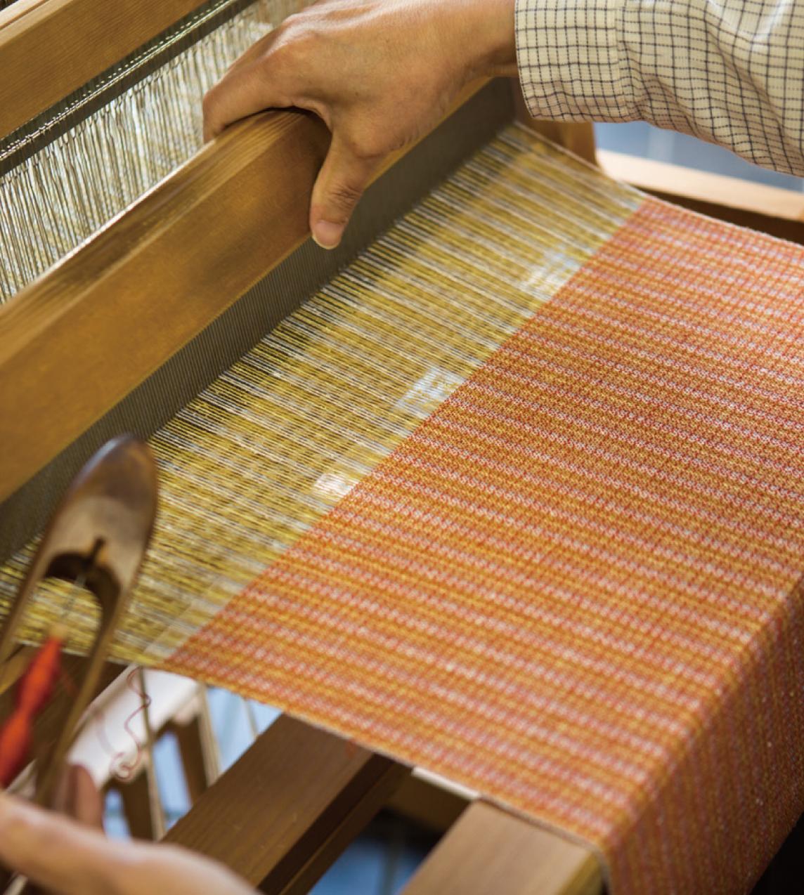香川県の伝統工芸品 保多織(ぼたおり)